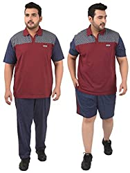 Confidence Mens Cotton Night Wear, Evening Wear and Sports Wear Track Suit-CHERRYMARL
