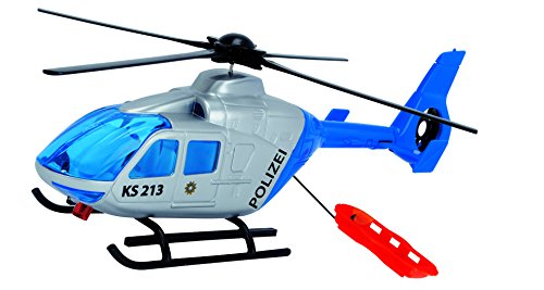 Dickie Toys 203714001 - Police Helicopter, Polizeihelikopter, 24 cm