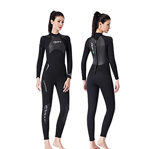 FR&RF Traje de neopreno de triatlón de 3 mm, para natación, surf, hombres, equipo de buceo, para mujeres, M