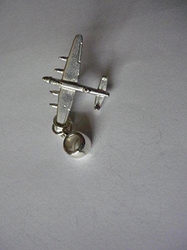 Avro Lancaster Flugzeug Luftfahrt Flugzeug Code C30Charme mit 5mm Loch passt auf Anhänger Charm Armband geschrieben von uns Geschenke für alle 2016von Derbyshire UK