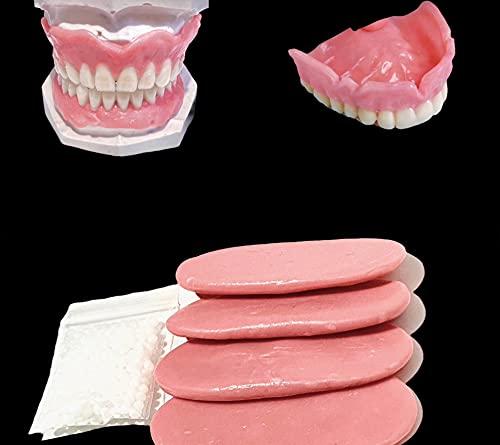 Adhesive Gum Material - Fix Loose Denture Oral Care Reusable Gum Material (Brown Shade)