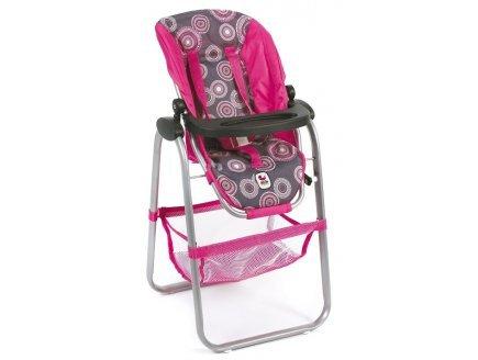 Bayer Chic 2000 - Chaise Haute pour poupée jusqu'à 50 cm