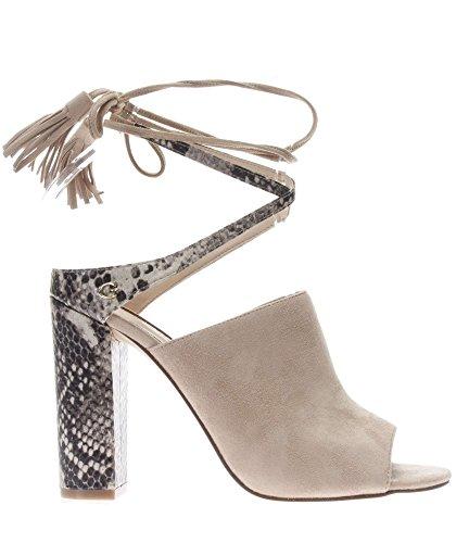 Guess FLEHI1 SUE09 sandalen met hoge hakken Vrouwen Beige 37