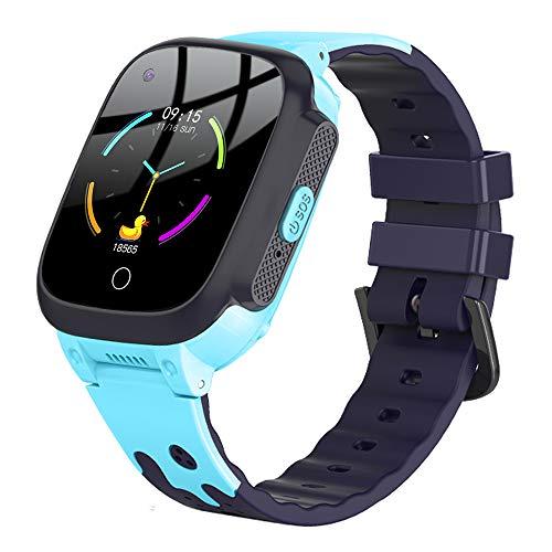 9Tong Videogiochi Sveglia Intelligente Orologio per Bambini Guarda i Bambini GPS Chiama Voice Smartwatch 4G SOS Video Tracker Touchscreen Orologi per Ragazze Ragazzi Regali