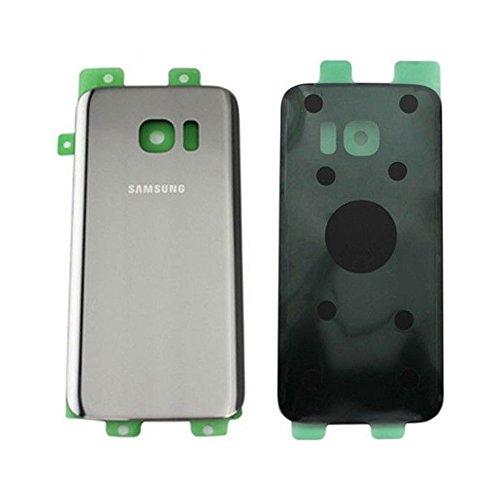 Todotumovil Tapa Trasera Cristal Trasero para Samsung Galaxy S7 Edge G935F Plata...