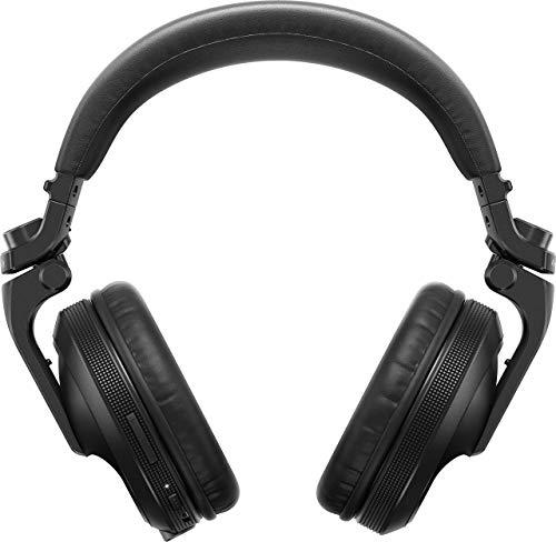 Pioneer HDJ-X5BT-K, Cuffie Professionali per Dj wireless, Nero