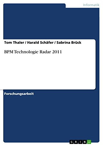 BPM Technologie Radar 2011 (German Edition)