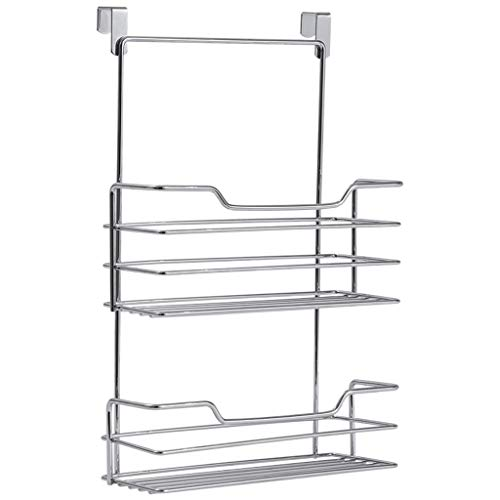 Scrox Movement and Free Perforated Wrap Plastic Shelves Support for Kitchen Roll Paper Kitchen Towel Closet Accessory Storage Rack for Napkins Stand