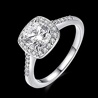Crystal Ring Jewelry Rings for Women Casual Wedding Party US8