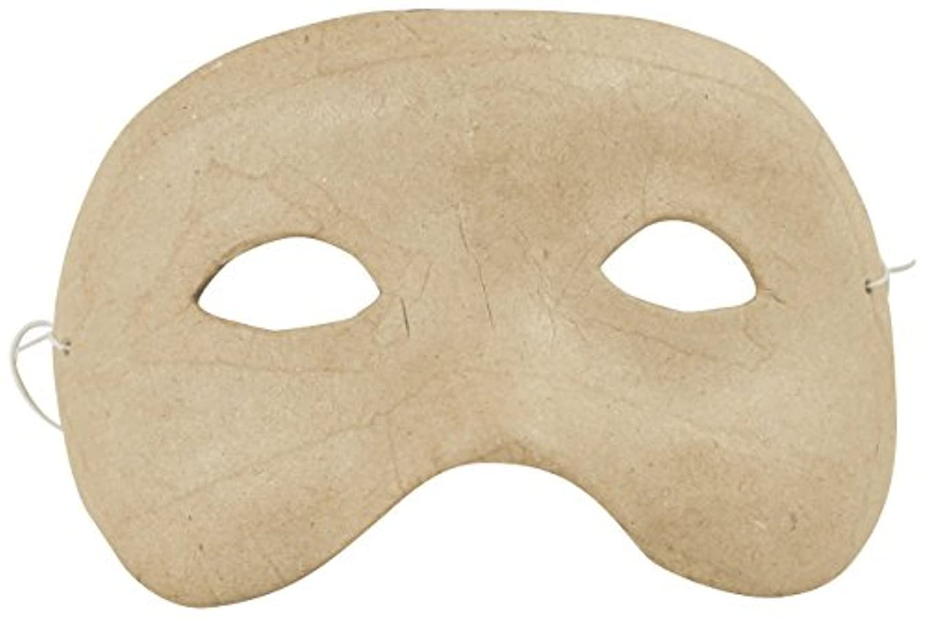 décopatch Mache Kids Eye Mask, 4 x 15 x 8.5cm, Brown