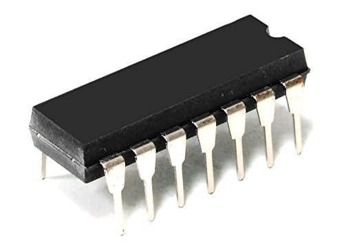 Texas Instruments 74S40-N Dual 4-Input Positive NAND Buffer 5V 13ns IC DIP-14 (Generalüberholt)