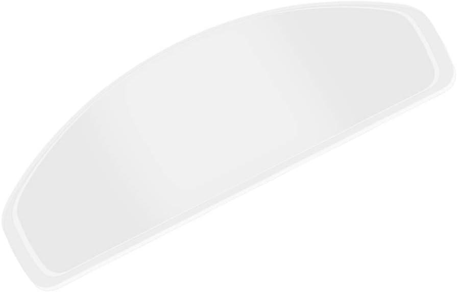 Gelentea Película antivaho para casco de motocicleta con visera de niebla ultra transparente para gafas de visera, universal, antivaho