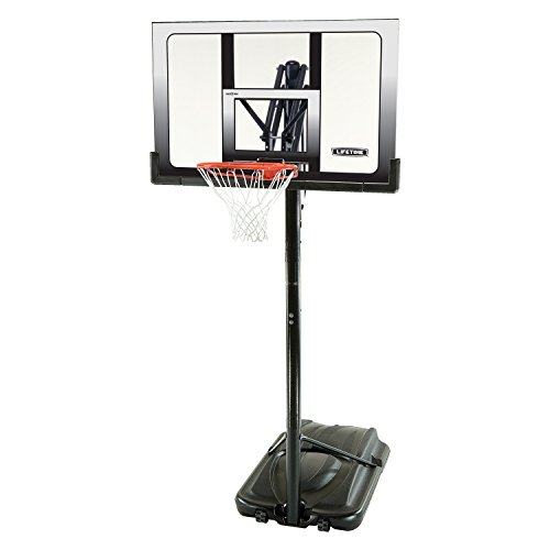 Lifetime 71286 XL Portable Basketball System, 52 Inch Shatterproof...