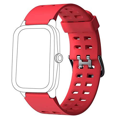 Yishark Correa de Repuesto para ID205 ID205L ID205S ID205U ID205G Smartwatch Reloj Inteligente Pulseras de Repuesto para ID205 ID205L ID205S ID205U ID205G Pulsera Actividad Monitor de Sueño Podómetro