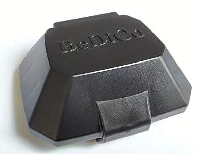 BeDiCo Yamaha E-Bike Schutzabdeckungen Pin Abdeckung für die Rahmen Akku-Aufnahme der Unterrohr Akku 400/500-Wh, PW-Serie z.B. Haibike