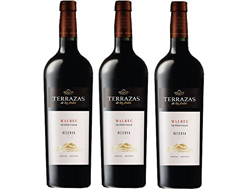 Terrazas De Los Andes Malbec Case Of Three 3 X 75cl