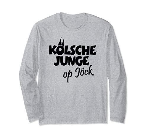 Kölsche Junge Op Jöck (Schwarz) Kölner aus Köln auf Tour Langarmshirt