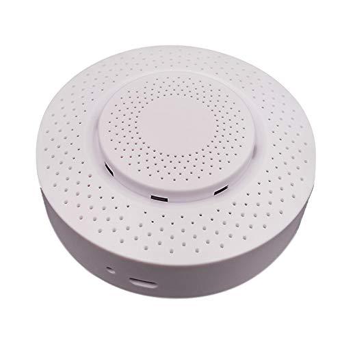 HEZIS Kohlenmonoxid/Kohlendioxid-Alarmmelder, intelligenter Alarmmelder für Temperatur und Luftfeuchtigkeit, funktioniert mit der Tuya Smart Life App