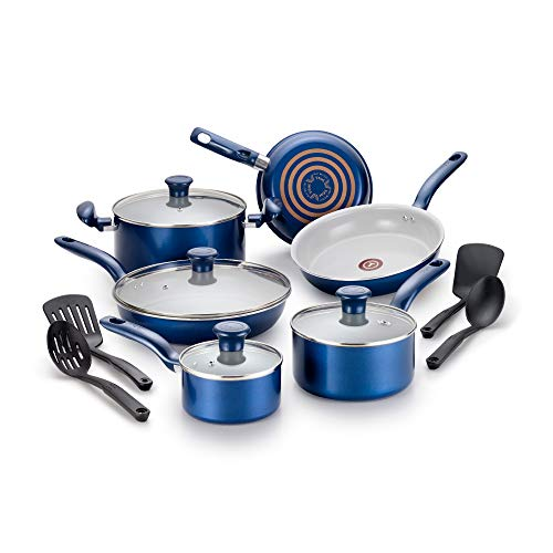 T-fal Inititives Ceramic Thermo-Spot 14-Piece Cookware Set Now $69.99