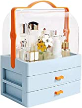 Makeup Organizer Drawers Division Cosmetic Storage Box Dustproof Portable Dressing Table Gift XL Skin Care Jewelry Plastic...