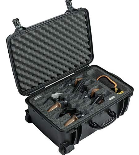 Case Club 8 Revolver/Semi-Auto Pre-Cut Waterproof Case with...