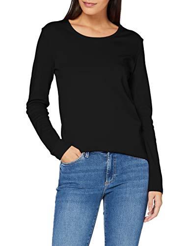 Cecil Damen B315349 T-Shirt, Black, X-Large
