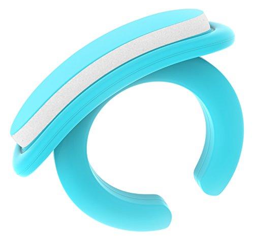 Bebon Kit de soins pour les ongles pour bébés | Kit de soins pour bébé pratique pour nouveau-né à partir de 0 mois | Idée cadeau pour les mamans | 18 limes jetables Bleu