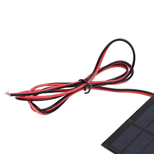 Sdfafrreg Módulo de energía Solar, Panel Solar, Montañismo de polisilicio a Prueba de Nieve para Acampar Senderismo al Aire Libre