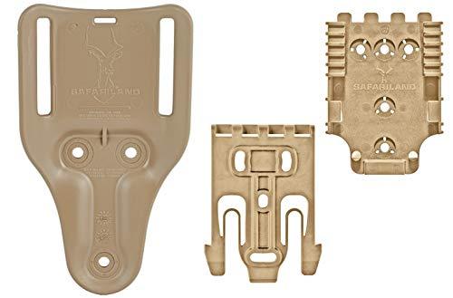 Safariland QLS Quick Locking System Kit QUICK-KIT1-55 Bundle...