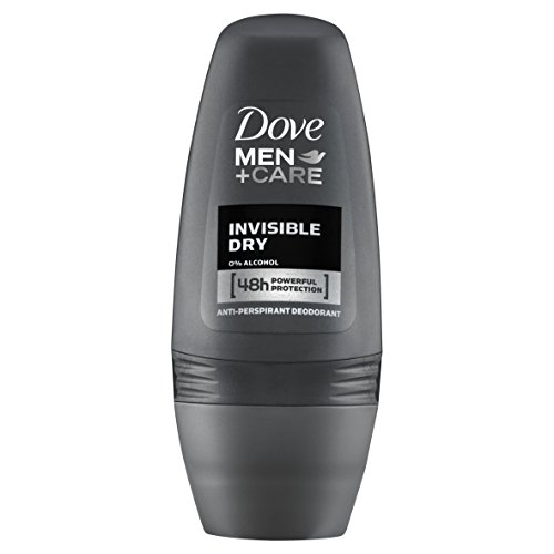 Dove Men+Care Invisible Dry Deo Roll-On, 3er-Pack (3 x 50 ml)