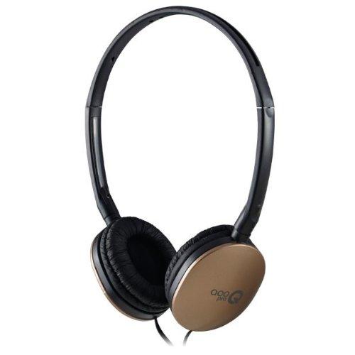 QooPro G-020A Color Dorado Auriculares abatible