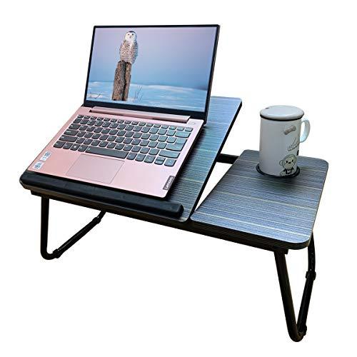 Escritorio para ordenador portátil para cama ajustable, escritorios de regazo, cama para comer y laptops, soporte para mesa de regazo, bandeja para computadora para cama