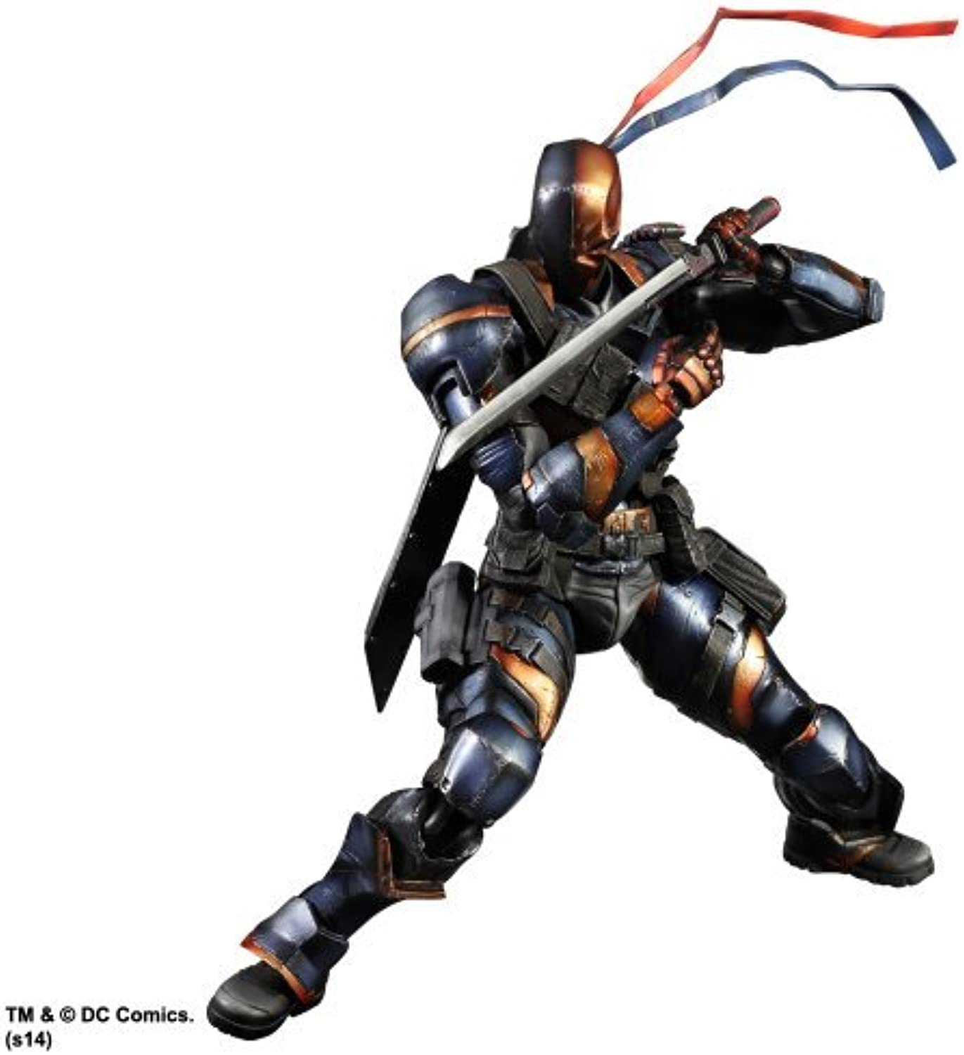 Batman Arkham Origins  Deathstroke Play Arts Kai Action Figure by Square Enix