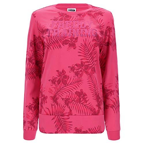 FREDDY sweatshirt ronde hals patroon glitter logo