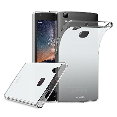 HOOMIL Doogee X5 Max Case Soft TPU Slim Protective Clear Case for Doogee X5 Max and X5 Max Pro Phone Cover (Crystal)