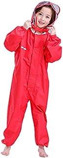 Vine Kids Rainsuit One-Piece Waterproof Rainsuit Outdoors Rain Suit