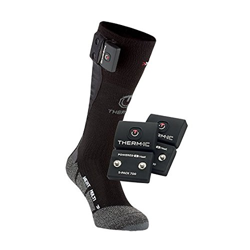 Therm-ic PowerSock Set Heat Multi , Schwarz, 42-44