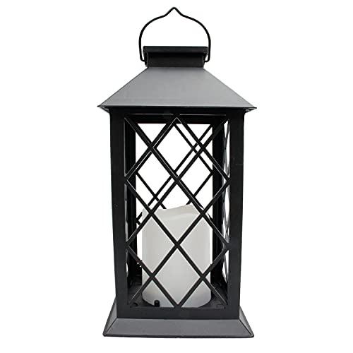 Solar Laterne, Garten Hängelaterne im Freien IP44 Wasserdichte LED Flackern Flameless Candle Mission Lights für Tisch, Outdoor, Party dekorativ