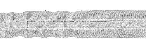 Ruther & Einenkel Kräuselband 22 mm, variabel/Aufmachung 20 m, Polyester, weiß, 2000 x 2.2 x 0.2 cm