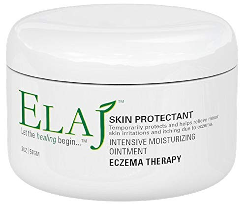 Elaj Skin Protectant: Moisturizing Ointment Eczema Therapy Treatment - Promotes Healing and Helps Sooth and Relieve Skin Irritation and Itching | Fragrance, Paraben, and Alcohol Free | Made in USA