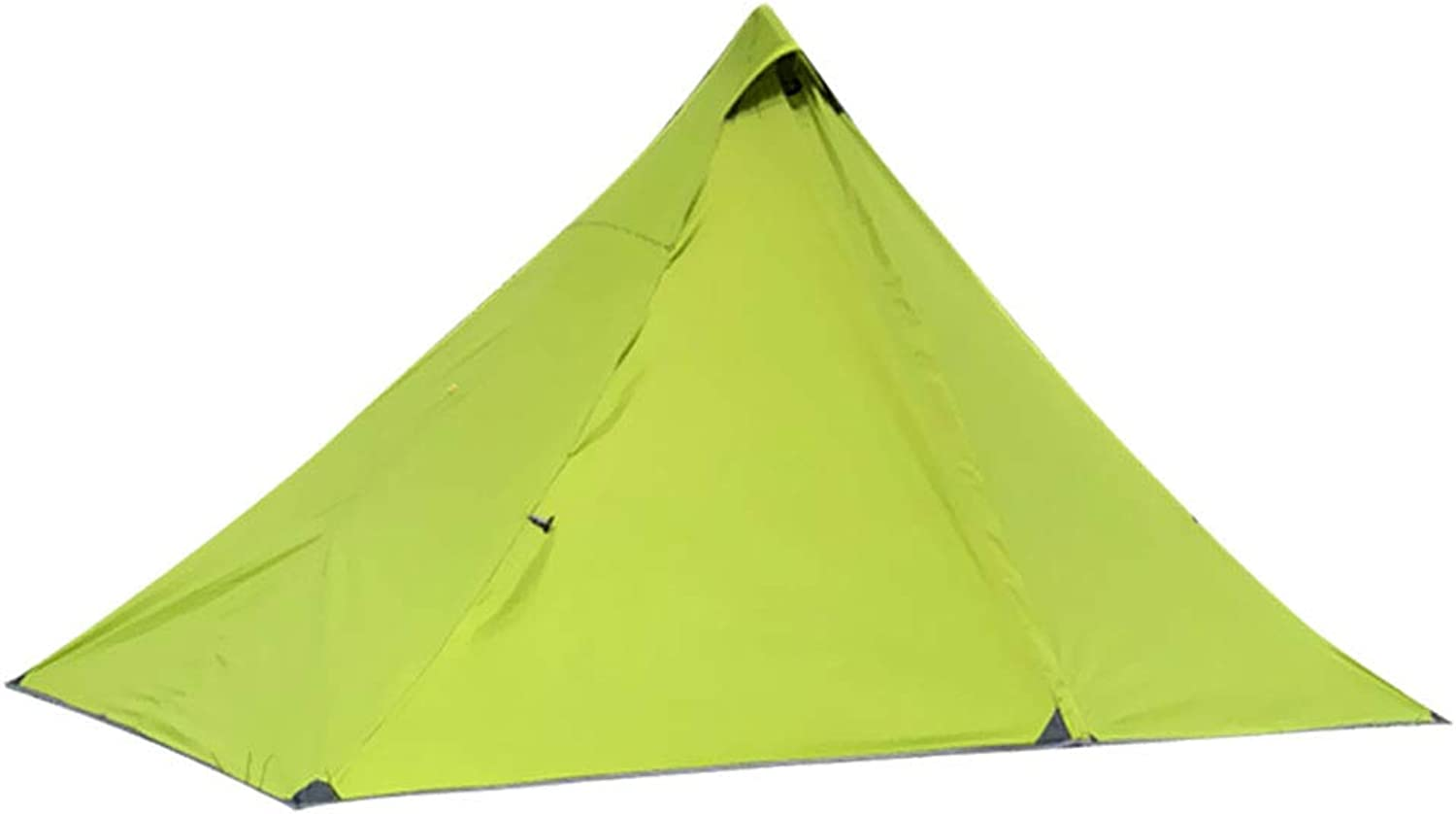 Baosity 1 Person Pyramid Tent Backpacking Lightweight Single Waterproof with Double Layer for Mountaineering Hiking Camping