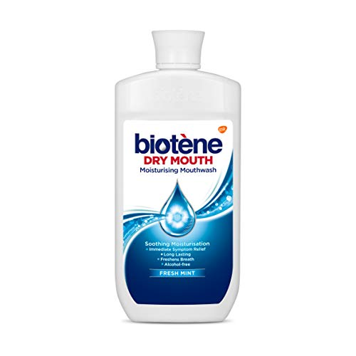 Biotene Dry Mouth Mouthwash, Moisturising & Alcohol Free Oral Wash, 500 ml