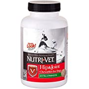 Nutri-Vet Hip & Joint Extra Strenght Chewable Tablets for Dogs, 75 count (24743-3)