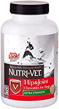 Nutri-Vet Hip & Joint Extra Strength Chewables for Dogs, 75 count