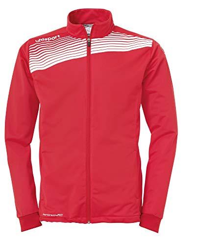 uhlsport 100514501 Veste Homme, Rouge/Blanc, FR (Taille Fabricant : 2XL)
