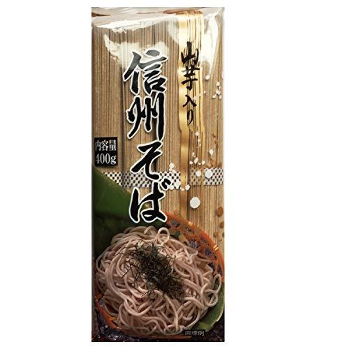 沢製麺 山芋入り信州そば 400g ×4箱