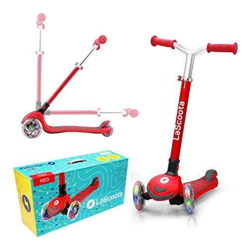 Lascoota Kick Scooter is a fun toy for boys age 6