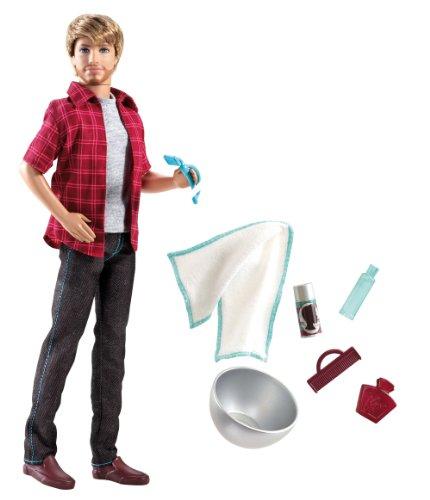 Mattel V3398 - Barbie Rasierspaß Ken, Puppe