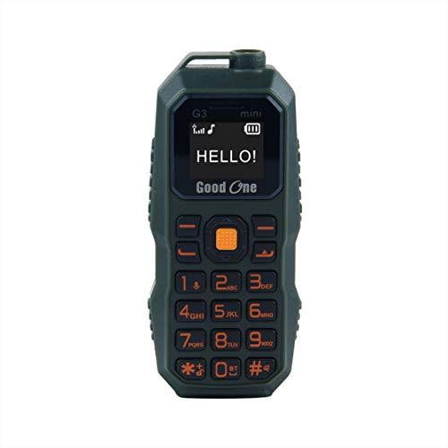 Good One G3 Mini Phone - World Smallest Mobile (Green)