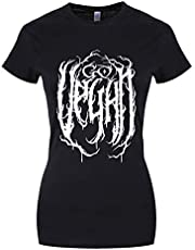 Grindstore Go Vegan - Camiseta para Mujer, Color Negro